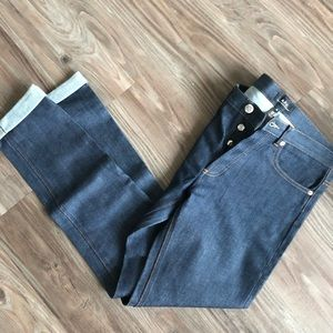 Apc petit new standard dark wash jeans